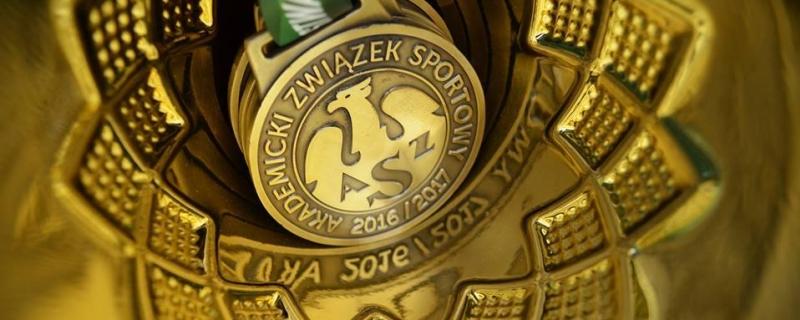 AZS Uniwersytet Gdański na trzecim miejscu